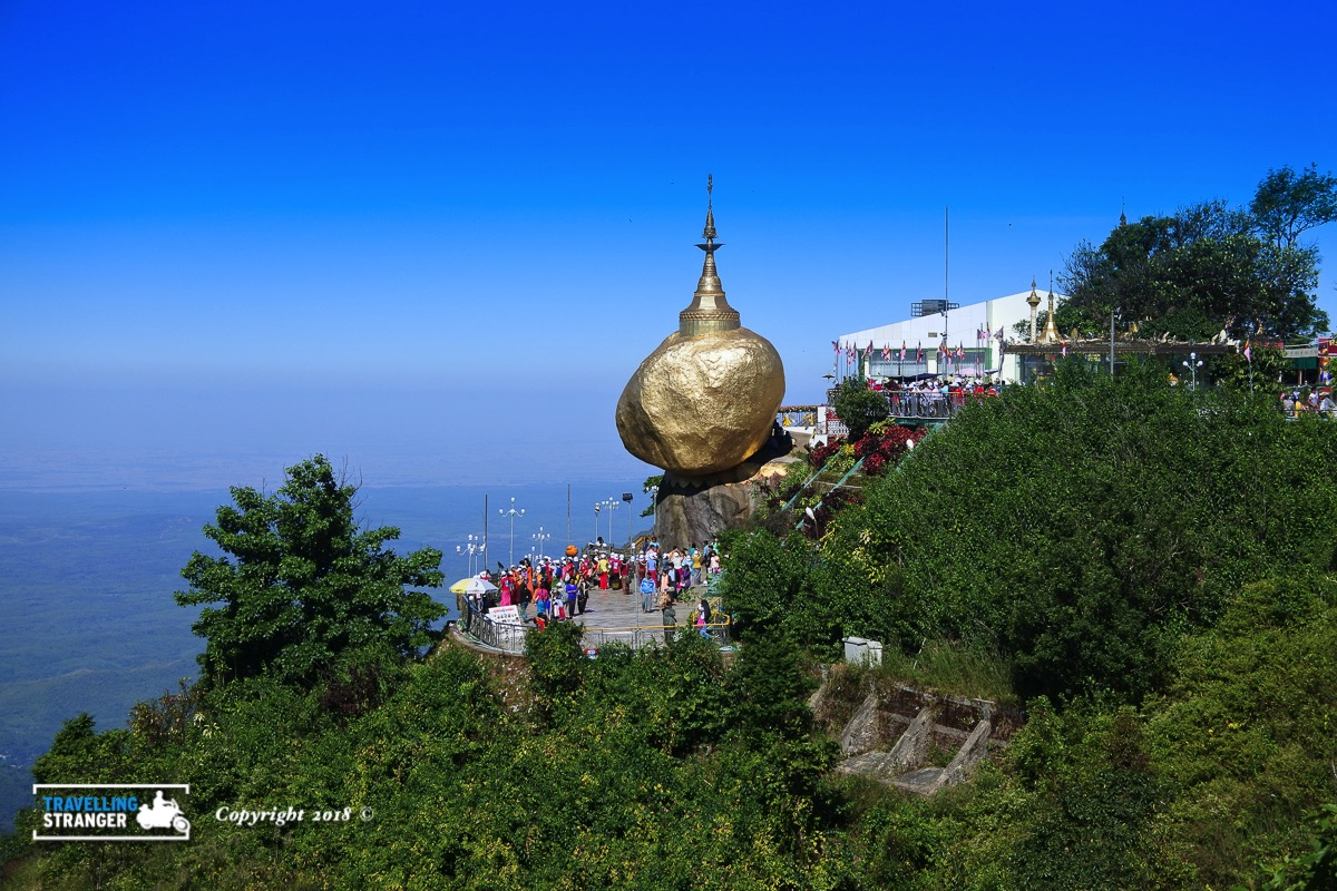 View of the Golden Rock