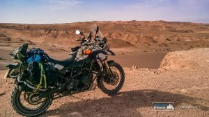 Bike and desert